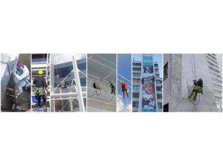 Industrial Abseiling - Window Cleaning - Rope Access