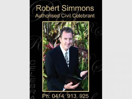 Robert Simmons Gold Coast Celebrant