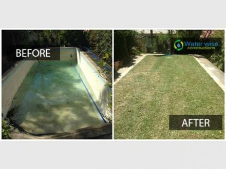 Water Wise Constructions - Pool Removal Melbourne
