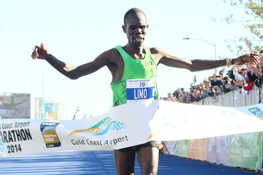 Silah Limo Winning The 2014 Gold Coast Airport Marathon